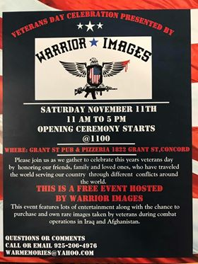 JOEYS VETERANS FDAY EVENT